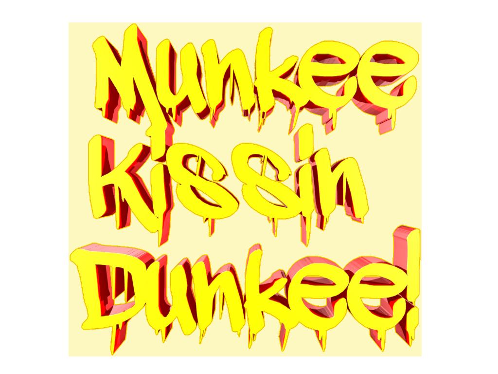 Munkee Kissin Dunkee Logo